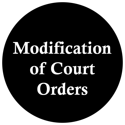 Modification of Court Orders