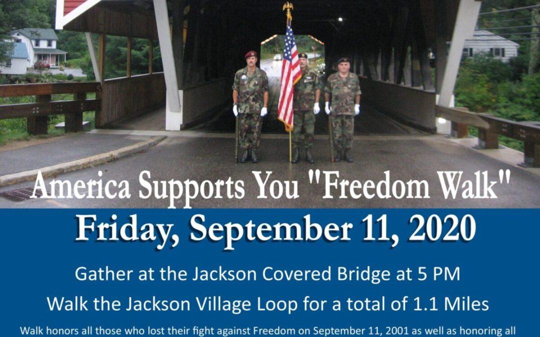 Freedom Walk – America Supports You