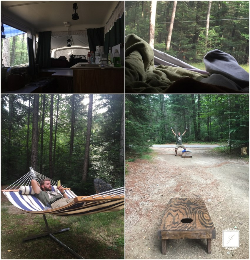 Summer Vacation Jackson Style, Camping in New Hampshire by Jackson Signature Photography a New Hampshire Wedding Photographer