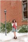 Bella's Downtown Greensburg High School Senior Portrait Session | Lincoln Park Performing Arts Chart School