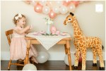 Caroline's 2nd Birthday Giraffe Tea Party