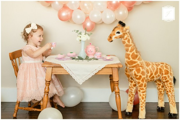 Caroline's 2nd Birthday Giraffe Tea Party