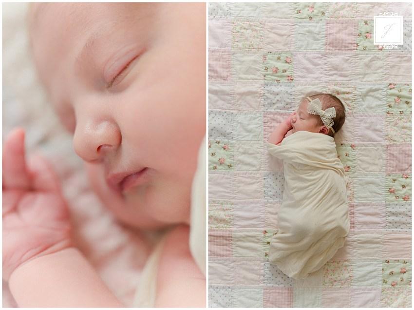 Baby Sophia's Newborn Portraits | Pittsburgh & Greensburg Portrait Photographer