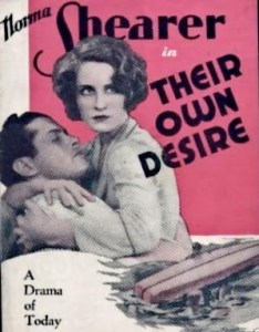 Their Own Desire (1929) poster 1