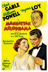 Manhattan Melodrama (1934)