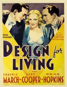 Poster - Design for Living_01