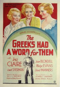 Greeks-Had-a-Word-For-It-Poster
