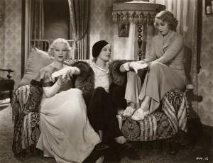 Glenda Farrell, Noel Francis, Joan Blondell in Havana Widows (1933)
