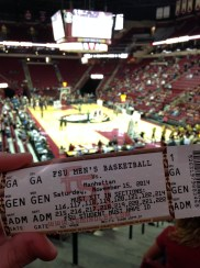 FSU Men's Basketball Game