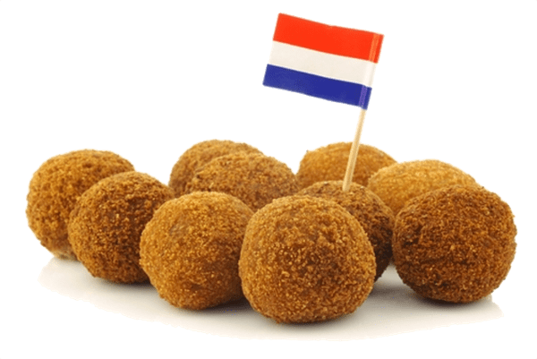 Bitterballen Dutch Flag