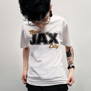 White New Jax T-Shirt