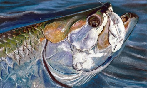 fishing wall art – Jack Tarpon Art