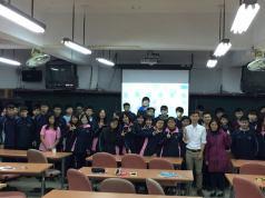 光隆家商資料處理科-董婉盈主任、同學們與傑克老師