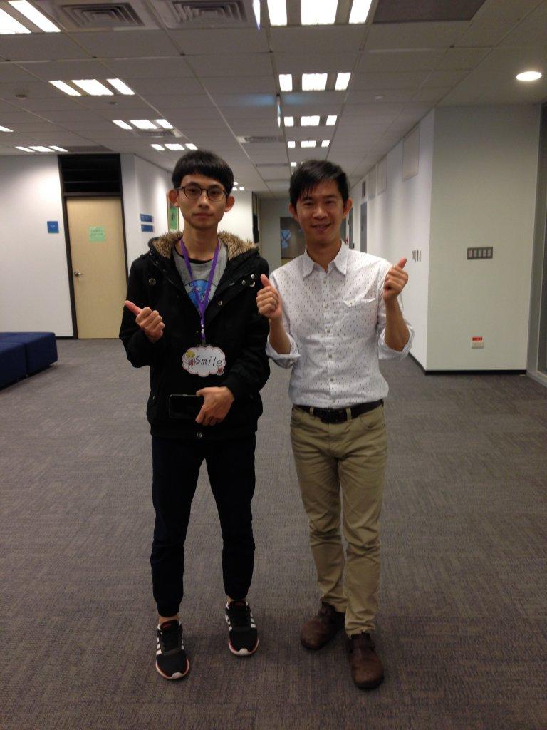 2018第十一屆中鋼營課程組-郭柏昇與傑克老師