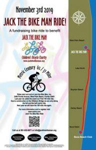 JTBM 100 Mile Ride event poster