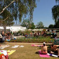Kapoué test n°30: Après midi (canicule) d'été à la piscine du Wacken à Strasbourg