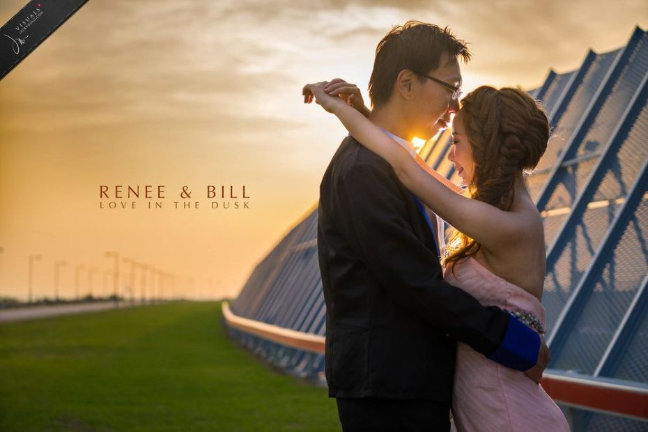 Pre-wedding photography at HKIA