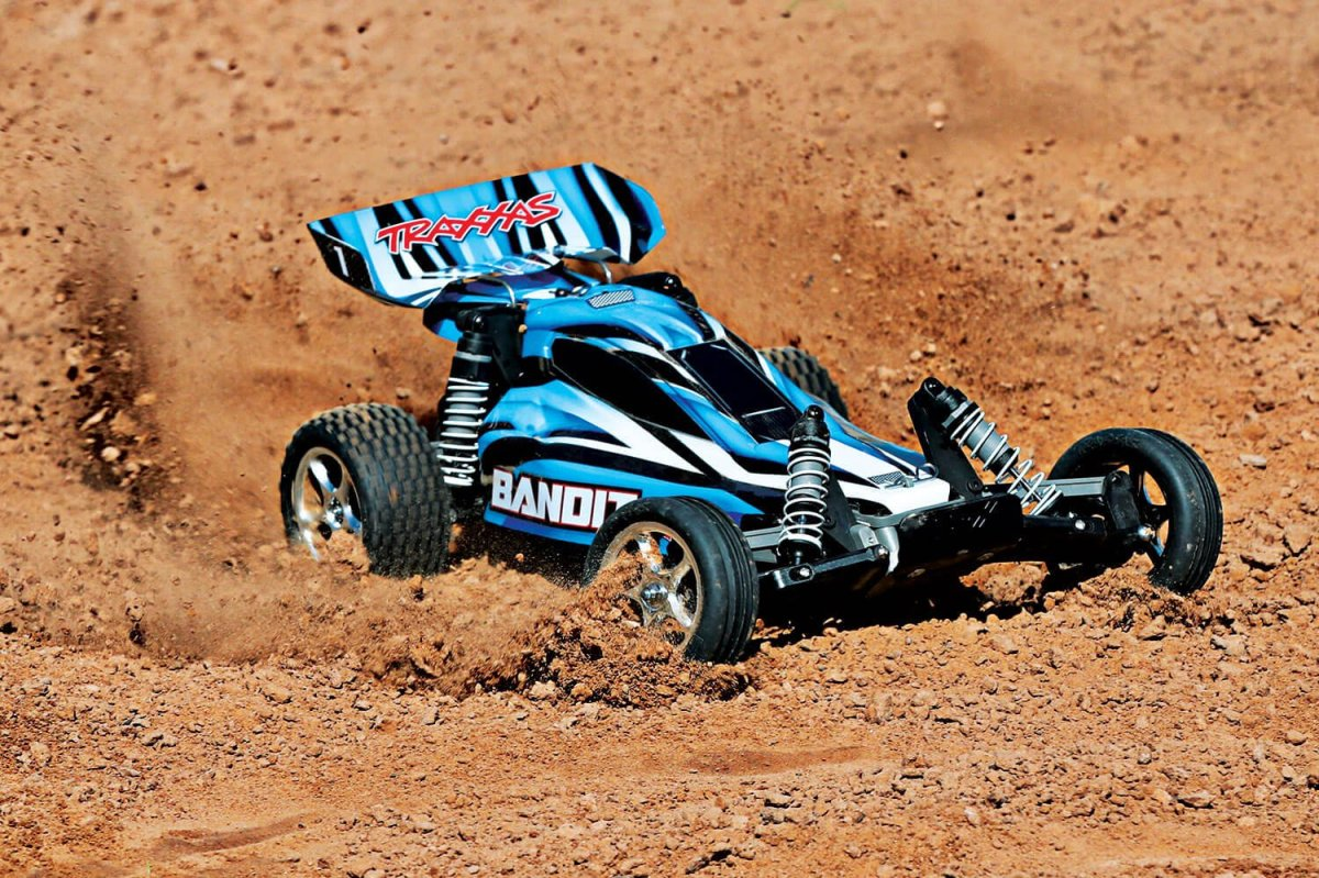 Traxxas 24054-4 Bandit-BLUE Action image