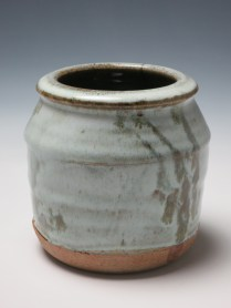 Vase, reduction stoneware, 14cm x 16cm, 2014