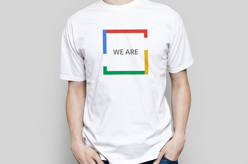 Google Squared - We are Squared T-Shirt