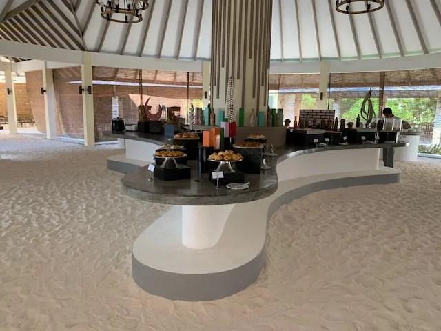Restaurant auf den Malediven