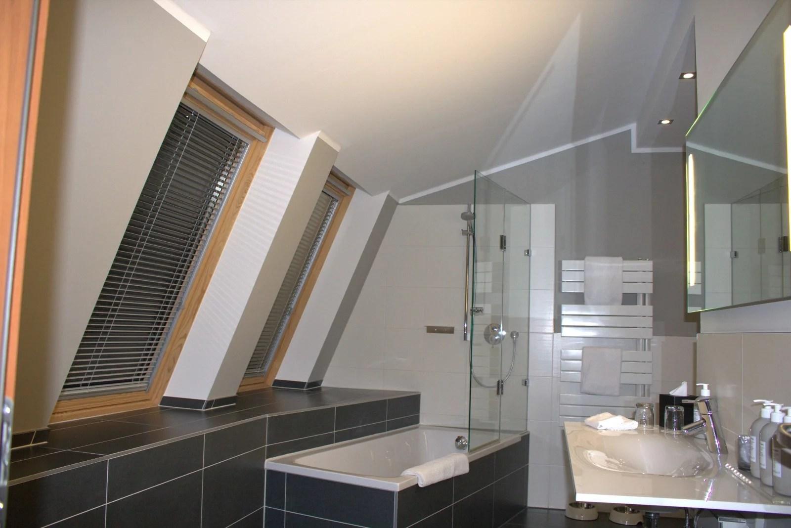 Badezimmer im The Grand