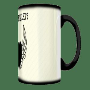 Coffee Talk Stripes Mug Side