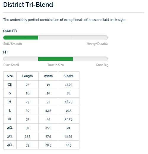 District Tri-Blend