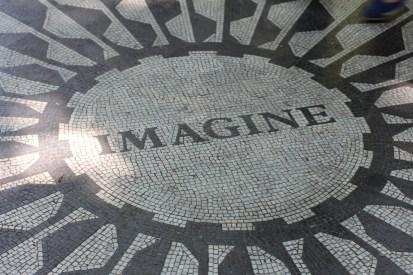 Mosaic in Tribute to John Lennon
