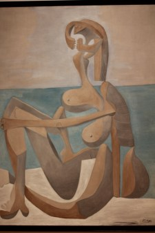 Seated Bather. Pablo Picasso