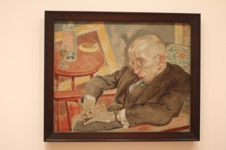 Poet Max Hermann-Neisse, George Grosz - this just looks so real!