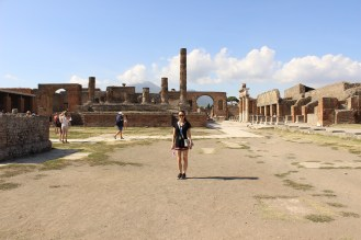 Shay in the Forum