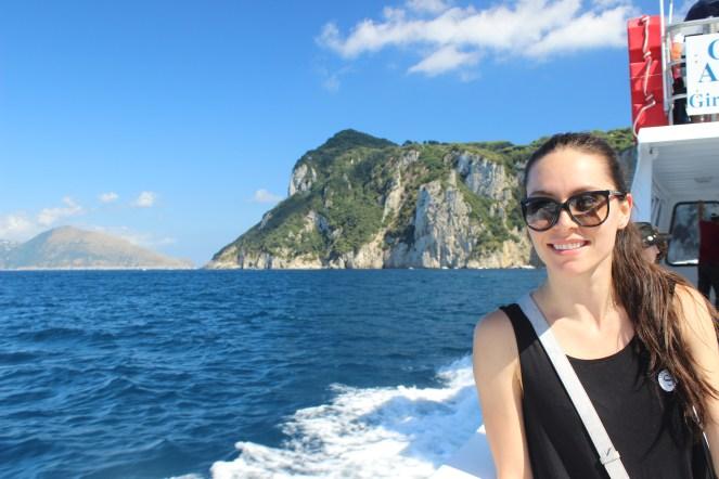 Shay, Capri Boat Cruise