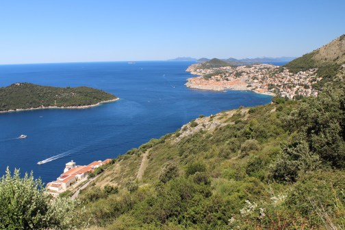 Dubrovnik and Lokrum from Out of Town