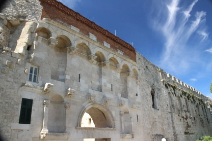 Main Wall, Diocletian's Palace, Split