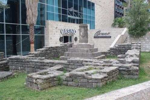 Budva New Casino, Old Ruins, Montenegro