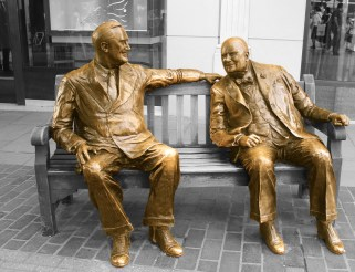 Roosevelt and Churchill