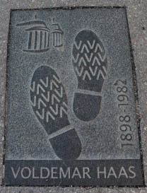 2016 Estonia Tallinn Footprint Voldemar Haas