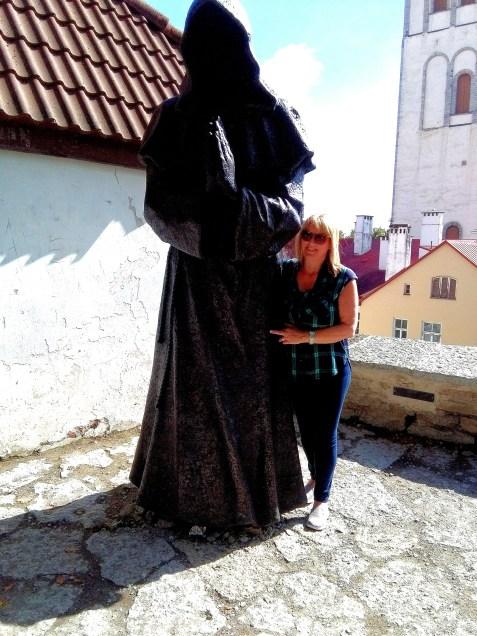 2016 Estonia Tallinn Me with a Monk