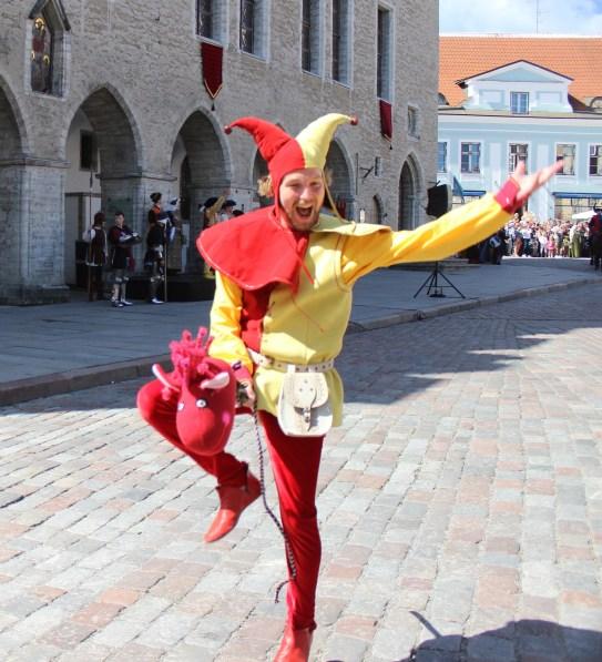 2016 Estonia Tallinn Medieval Days Jester