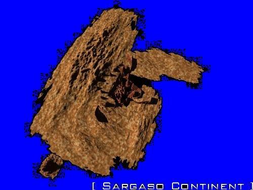 Sargaso a continent of Jacmus Prime