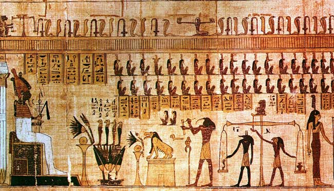 Ancient Egypt was home to many Gods and Kings and Queens who believed they were Gods but is their papyri or scripture proof of god?