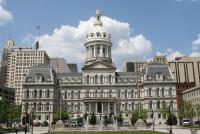 Baltimore City Hall, a very handsome building