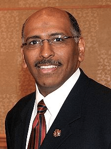 The new Chairman of the Republican Party, Michael Steele