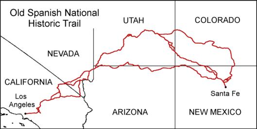 OldSpanishTrailmap