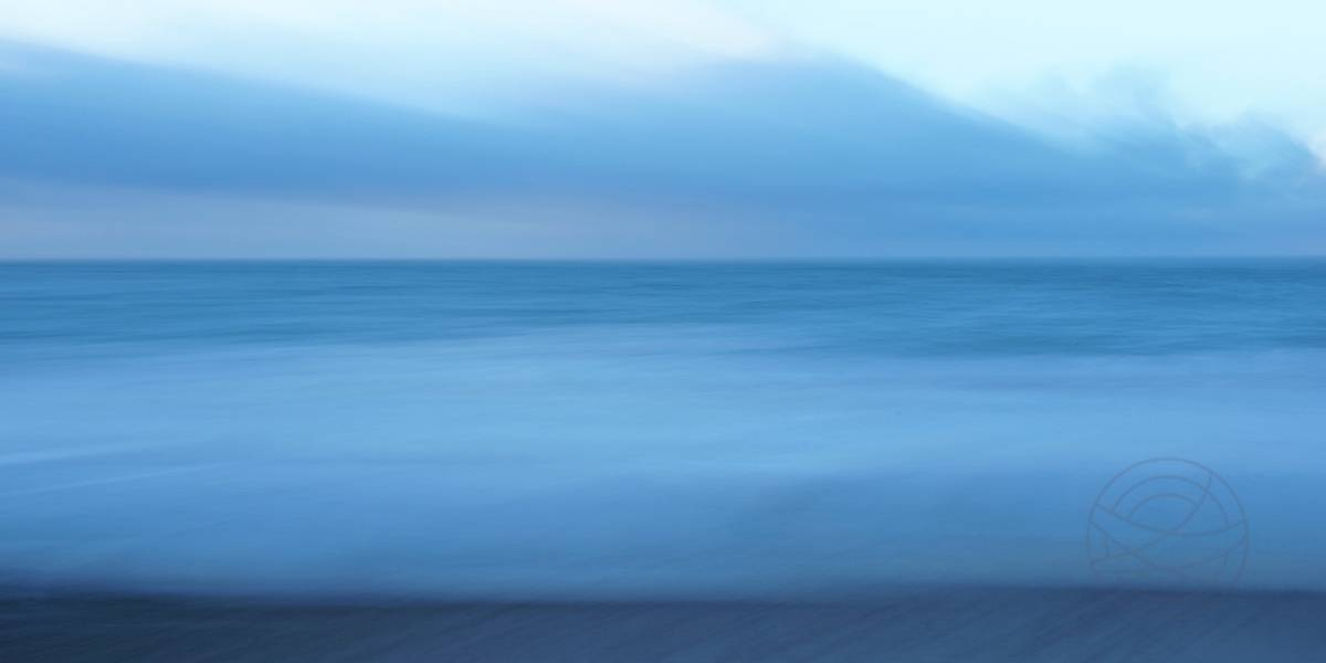 Breath Of Winter - Abstract realistic fine art seascape photography by Jacob Berghoef