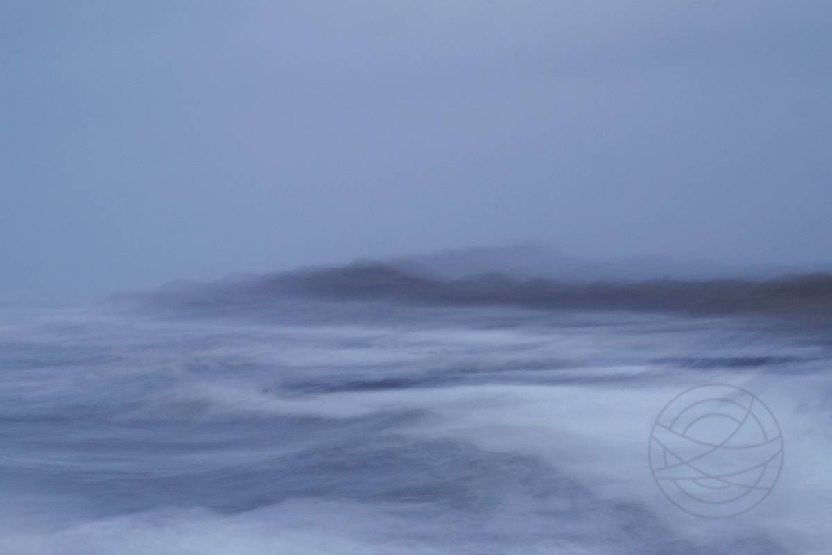Wild Is The Wind - Abstract realistic fine art seascape photography by Jacob Berghoef