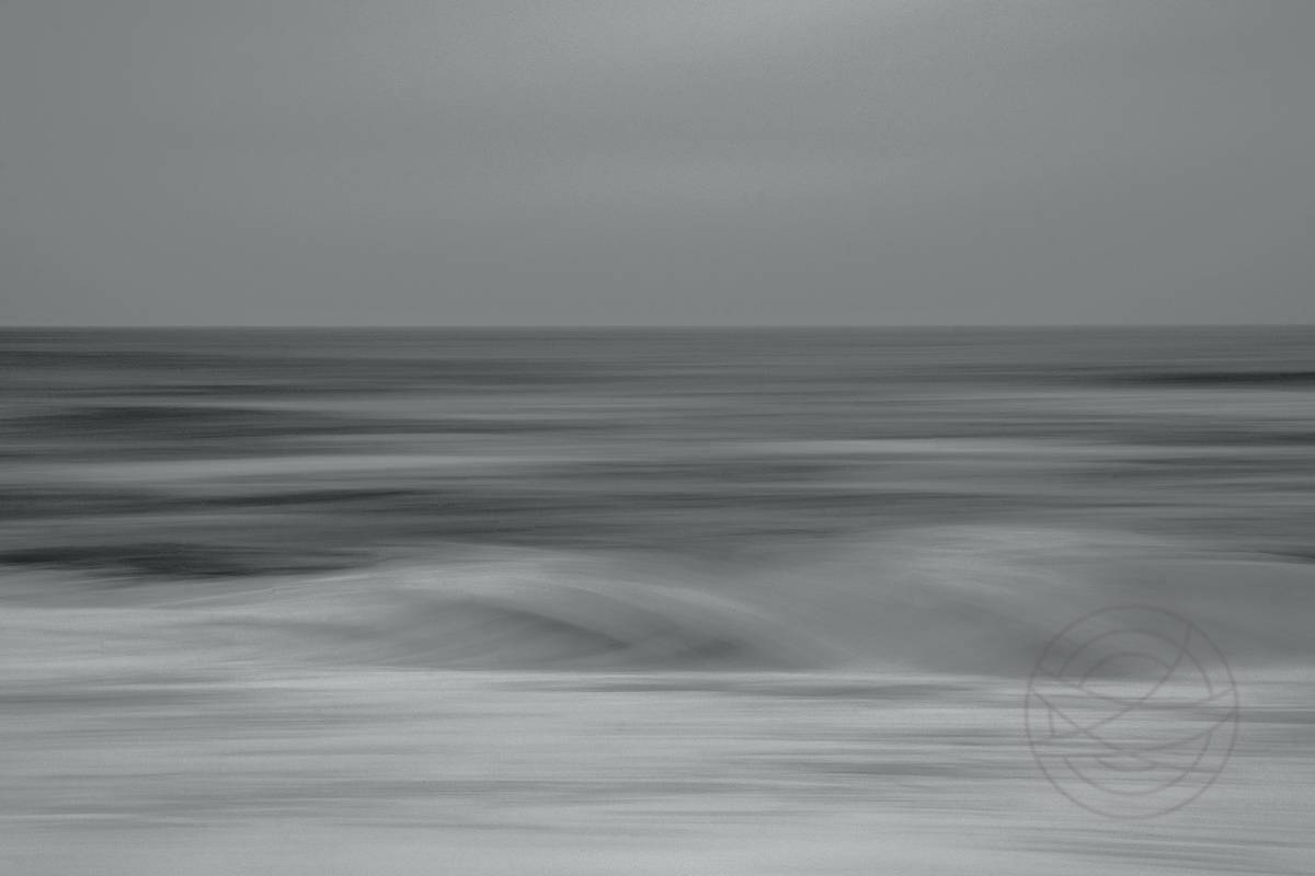 Woven Chant Of Water And Wind - Abstract realistic fine art seascape photography by Jacob Berghoef