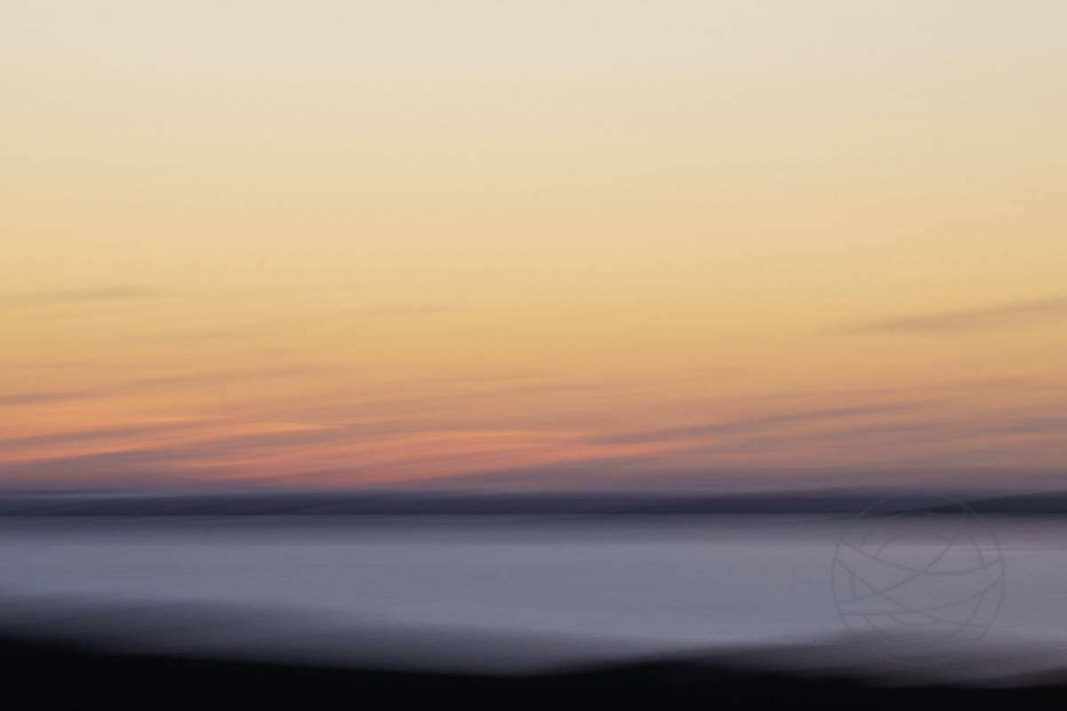 Autumn Sunset (8) - Abstract realistic fine art landscape photography by Jacob Berghoef