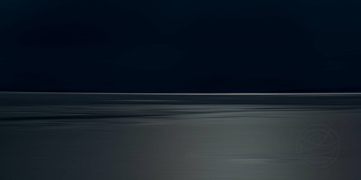 Dark Night - Abstract realistic fine art landscape photography by Jacob Berghoef
